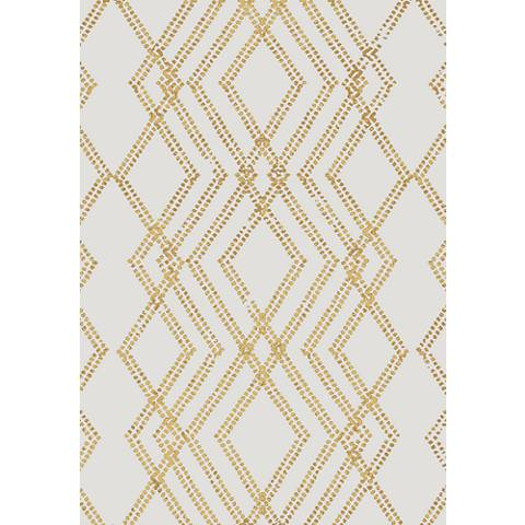 Cosmopolitan 91220 French Affair Gold Area Rug