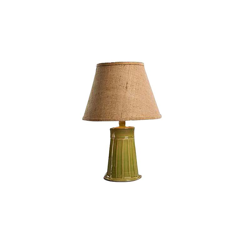 Cookie Sea Foam Green Ceramic Accent Table Lamp