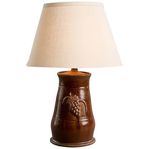 Romana Clove Ceramic Accent Table Lamp