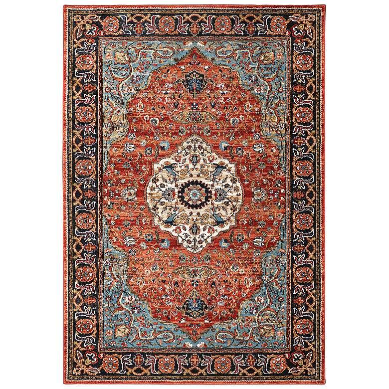 Spice Market 90661 2'x3' Petra Multi-Color Area Rug