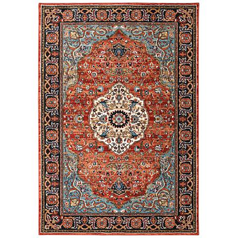 Spice Market 90661 2'x3' Petra Multi-Color Area Rug