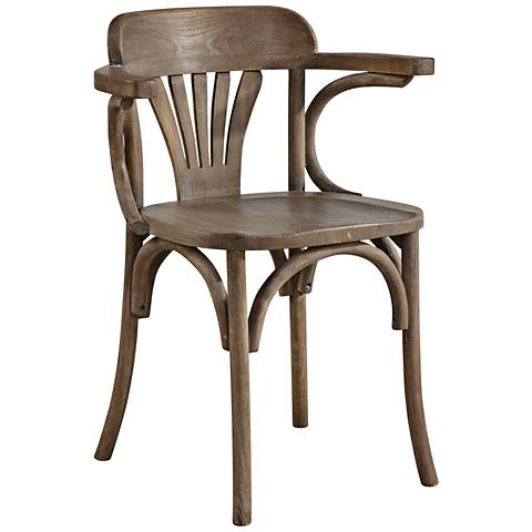 Uttermost Huck Natural Wood Accent Chair
