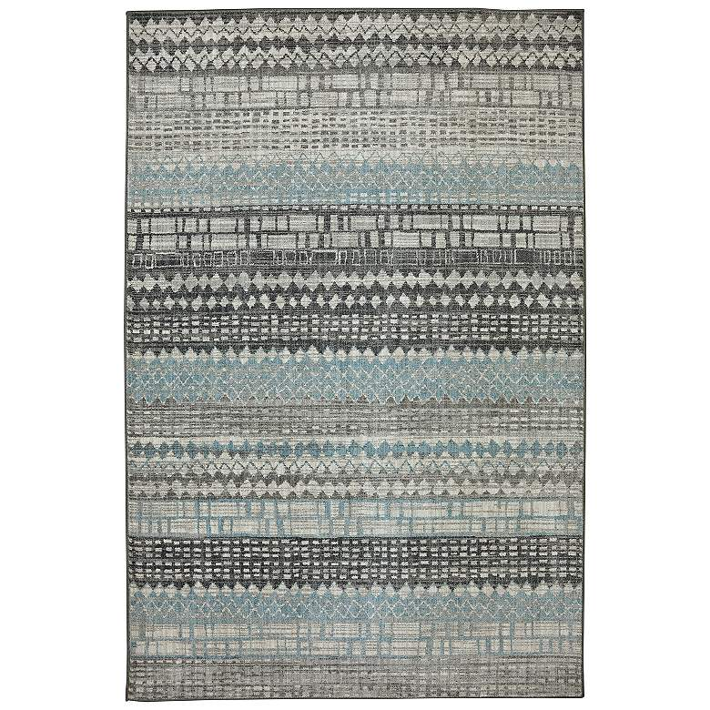 "Euphoria 90263 5'3""x7'10"" Eddleston Ash Gray Area Rug"