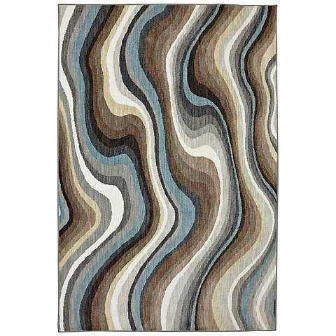 Karastan Euphoria 90269 Larkhall Granite Area Rug