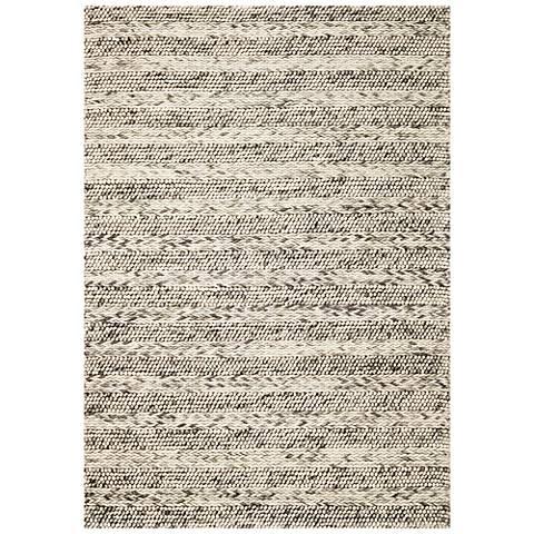 Cortico 6152 Gray Heather Wool Area Rug
