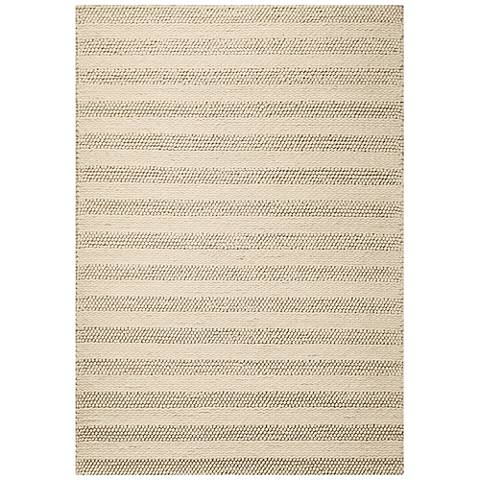 Cortico 6155 Winter White Wool Area Rug