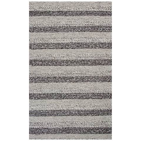Cortico 6158 Gray and White Landscape Wool Area Rug