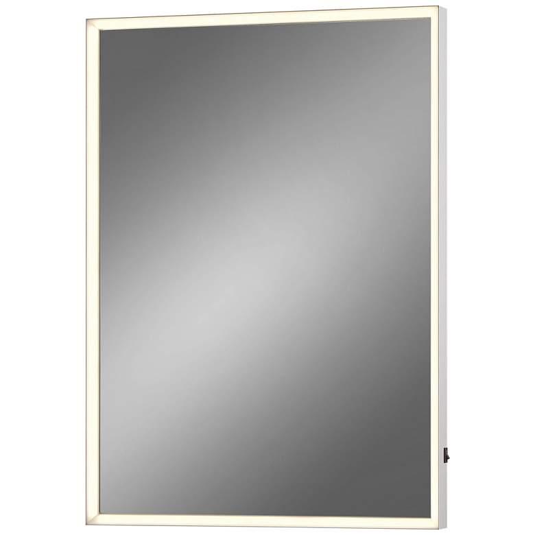 "Eurofase Adams Edge-lit 20"" x 28"" LED Wall Mirror"