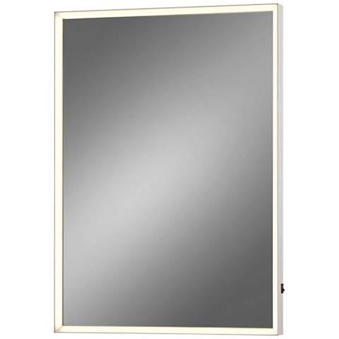 "Eurofase Adams Edge-lit 20"" x 28"" Small LED Wall Mirror"