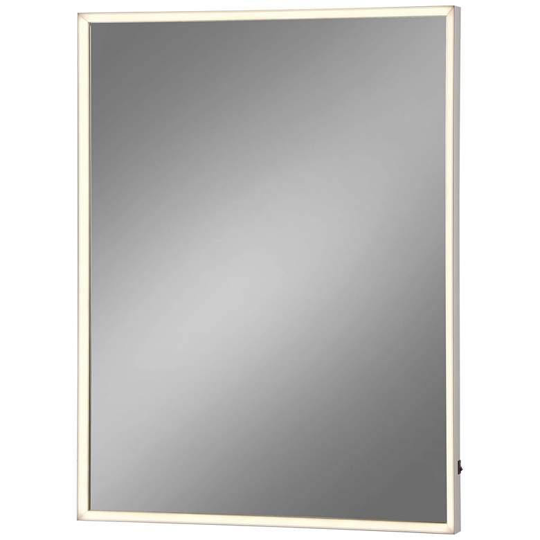 "Eurofase Adams Edge-lit 24"" x 32"" LED Wall Mirror"