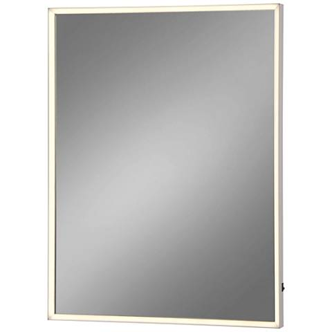 "Eurofase Adams Edge-lit 24"" x 32"" Medium LED Wall Mirror"