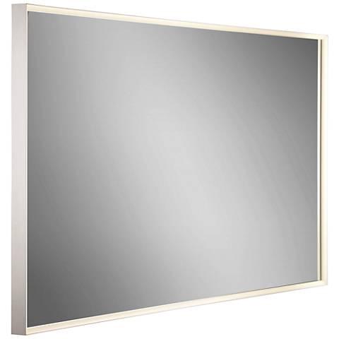 "Eurofase Adams Edge-lit 60"" x 32"" Oversized LED Wall Mirror"