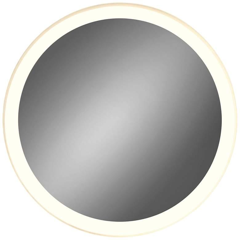 """Eurofase Adams Edge-lit 30"""" Round LED Wall Mirror"""
