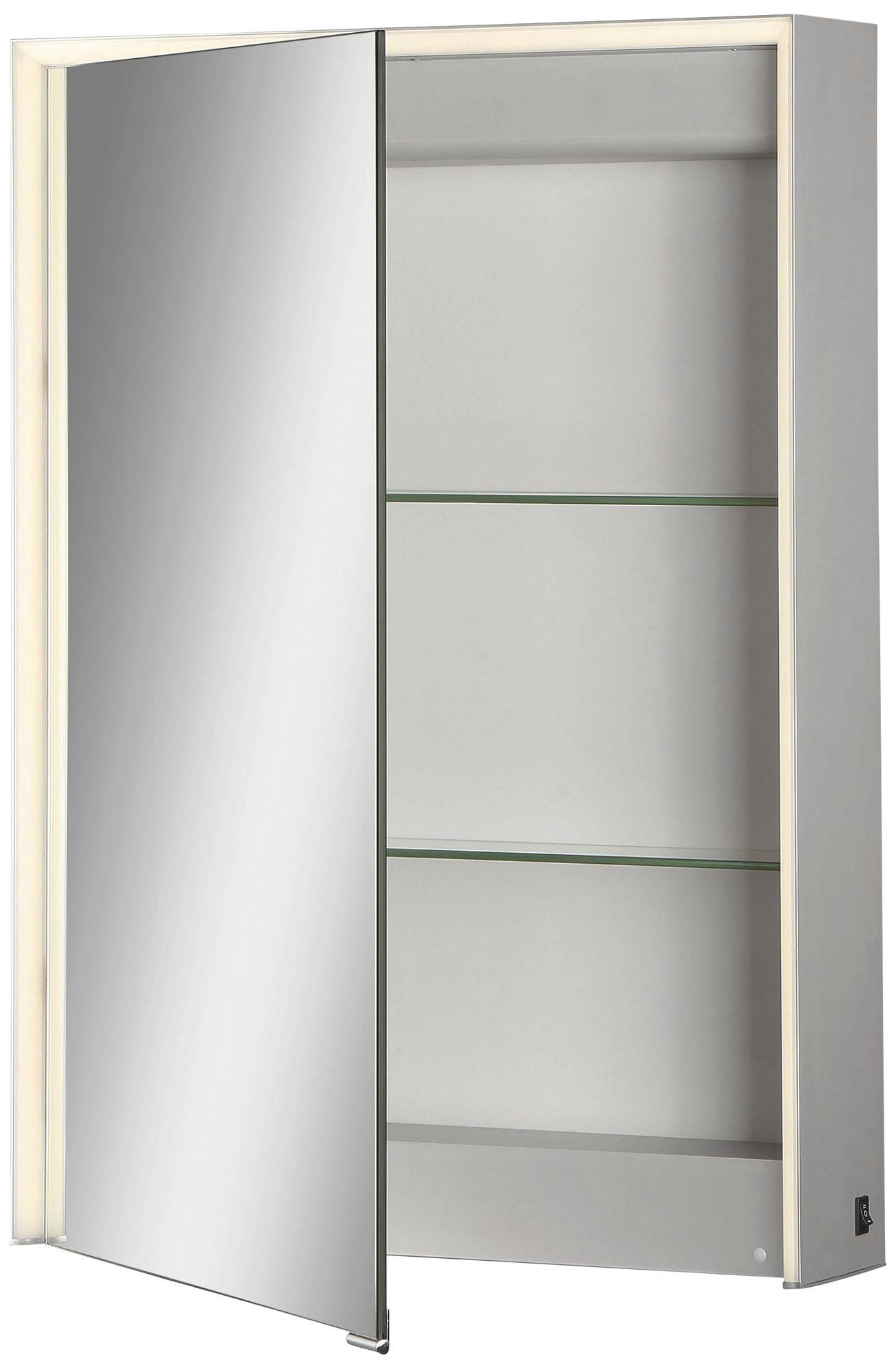 Eurofase Laurent 1 Door LED Mirror Cabinet