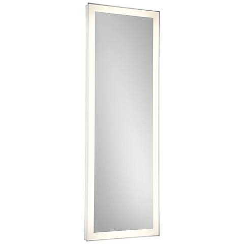 "Eurofase Adams Edge-lit 21"" x 60"" Linear LED Wall Mirror"