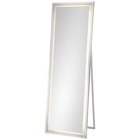 "Jefferson Back-lit 20"" x 60"" Freestanding LED Floor Mirror"