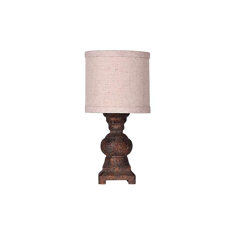 Monte Urn Accent Table Lamp in Distressed Bronze