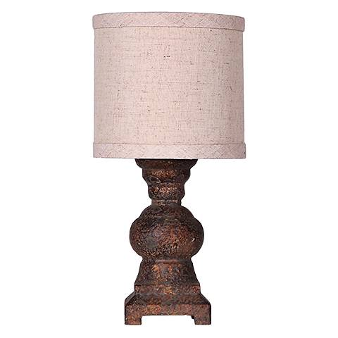 Monte Gray Urn Accent Table Lamp