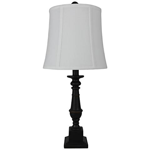 Elmford Black Accent Table Lamp