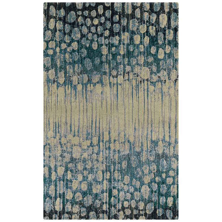 "Dalyn Upton UP5 5'3""x7'7"" Pewter Area Rug"