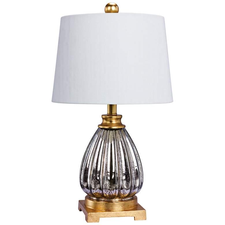 Juniper Mercury Glass and Antique Gold Table Lamp