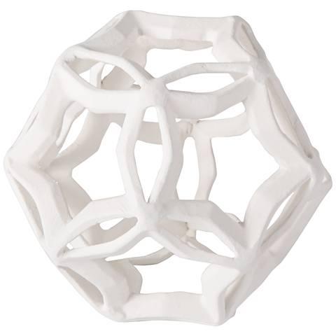 Regina-Andrew Cassius White Aluminum Small Geometric Star
