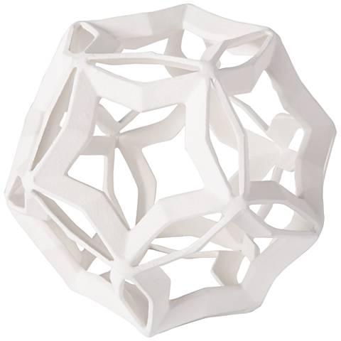 Regina Andrew Design Cassius White Large Geometric Star