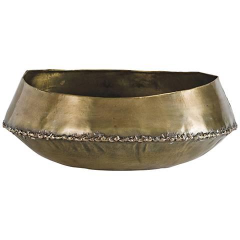 Regina Andrew Design Bedouin Natural Brass Large Bowl