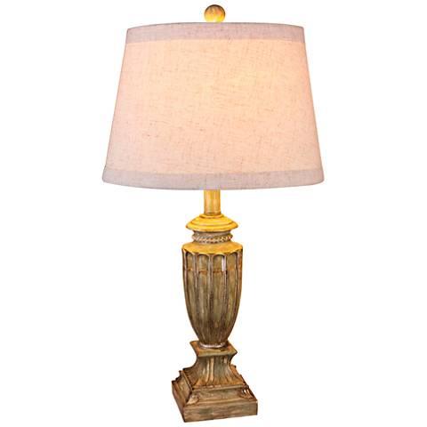 Stark Antique Beige Table Lamp