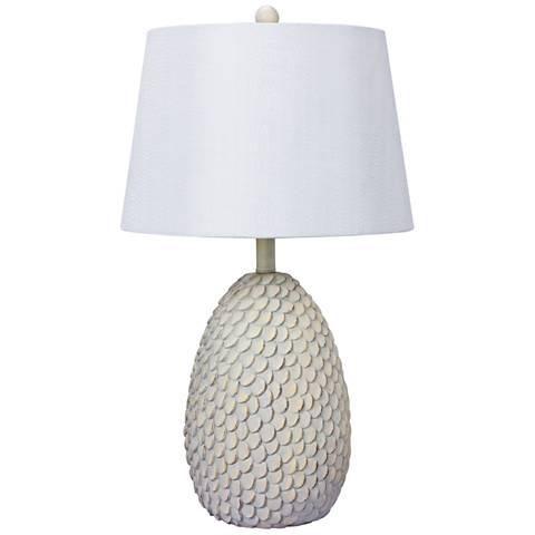 Isle Antique White Table Lamp
