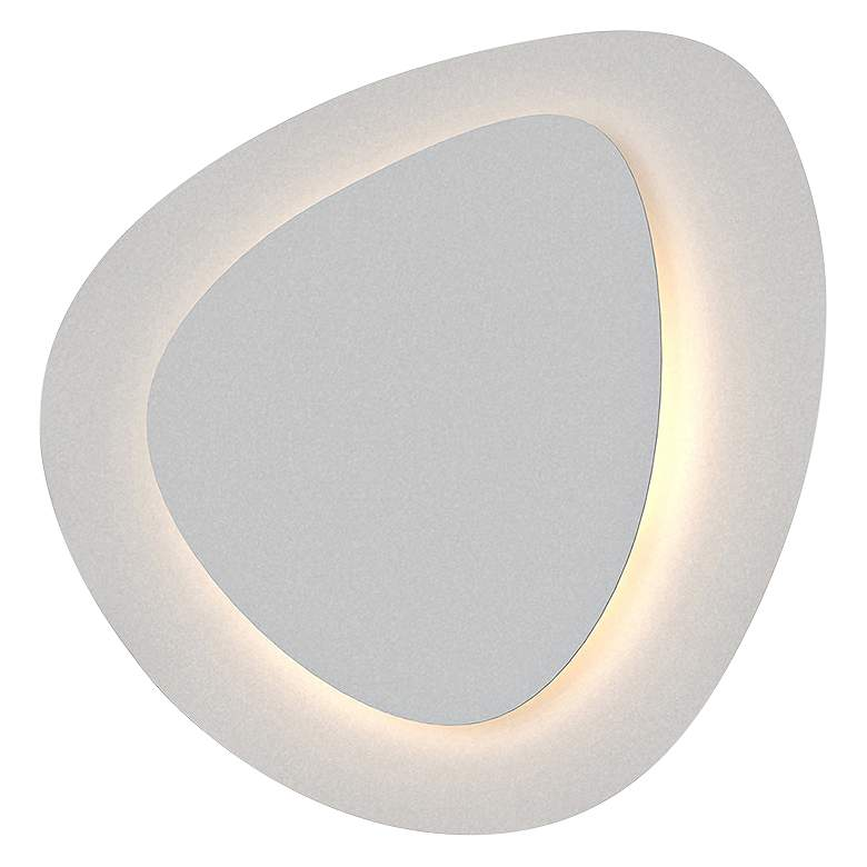 "Sonneman Abstract Panels 14 1/2"" High White LED Wall Sconce"