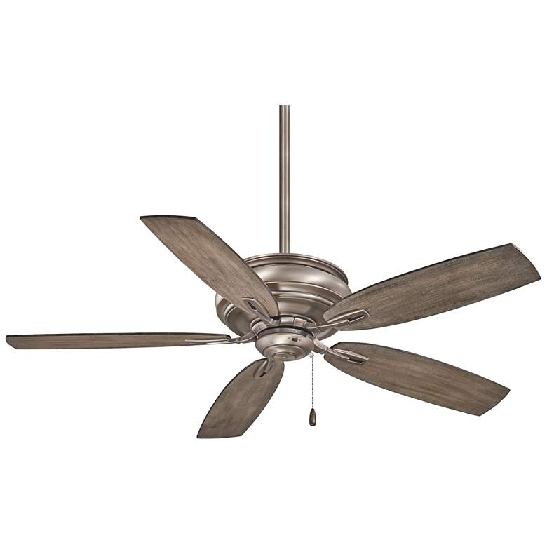 """54"""" Minka Aire Timeless Burnished Nickel Ceiling Fan"""