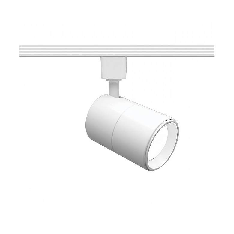 WAC Summit White Cylinder LED Track Head for Halo Systems