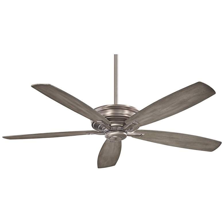 "52"" Minka Aire Kafe Burnished Nickel Ceiling Fan"
