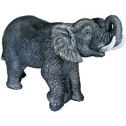 """Elephant 20"""" High Garden Accent"""