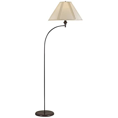 Parcin Dark Bronze Mini Arc Floor Lamp