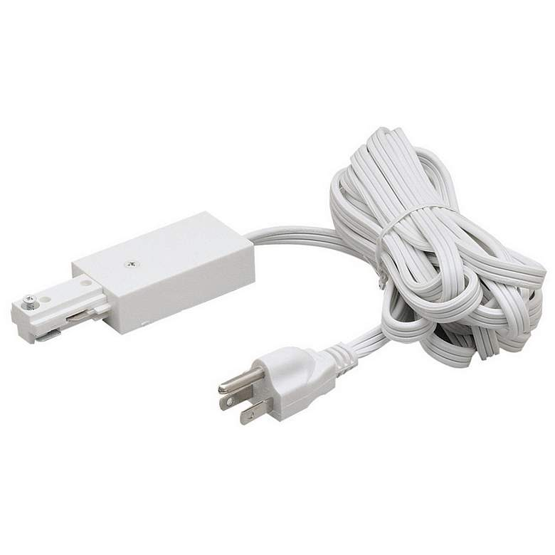 Nora Plug Power Feed and White Cord