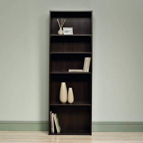 Sauder Beginnings® Cinnamon Cherry 5-Shelf Bookcase
