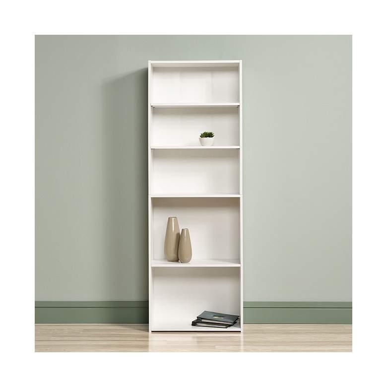 "Beginnings 71 1/4"" High Soft White Finish 5-Shelf"