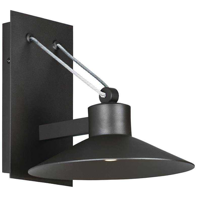 """Civic 10 1/4""""H Architectural Bronze LED Outdoor Wall Light"""