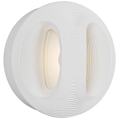 "Maxim Influx 10"" High White LED Outdoor Wall Light"