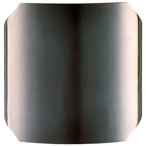 "Maxim Lightray 7""H Brushed Aluminum LED Outdoor Wall Light"