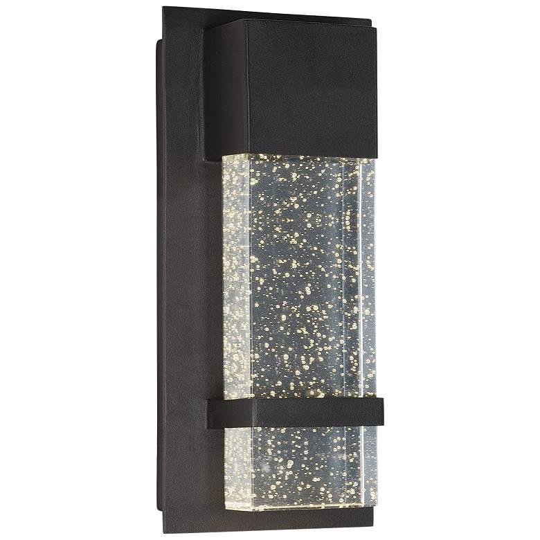 "Maxim Cascade 13 3/4""H Black Large LED Outdoor"