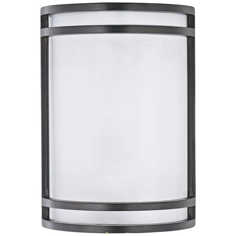 """Maxim Linear 10"""" High Bronze LED Outdoor Wall Light"""