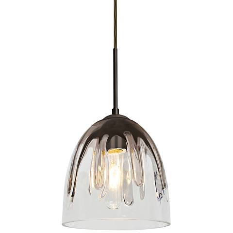 "Besa Phantom 6"" Wide Bronze Mini Pendant"