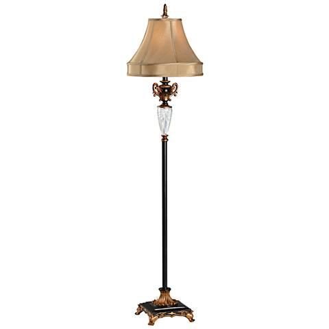 Wildwood Footed Bronze Floor Lamp