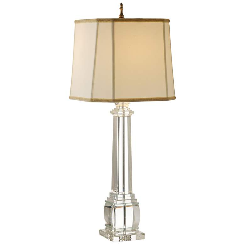 Wildwood Copely Clear Crystal Table Lamp