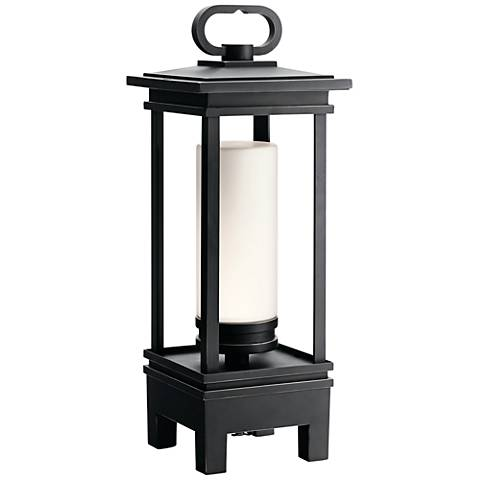 """South Hope 19""""H Portable LED Lantern with Bluetooth Speaker"""