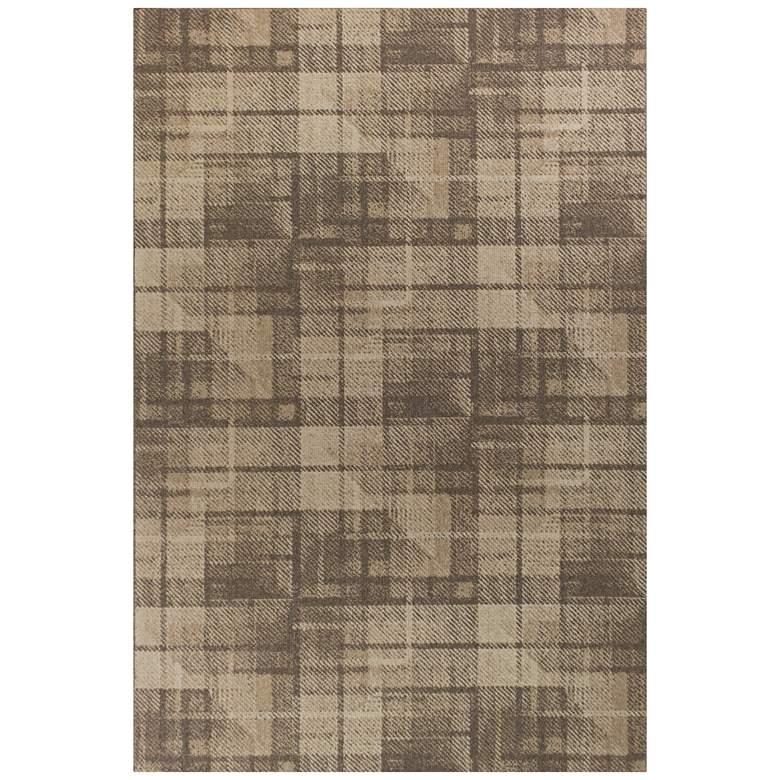 "Tahoe 4356 5'3""x7'7"" Natural Twill Wool Area Rug"