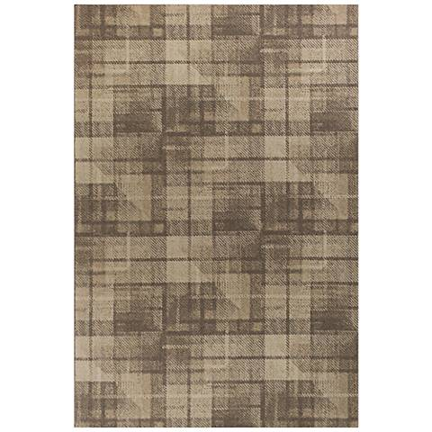 Tahoe 4356 Natural Twill Wool Area Rug